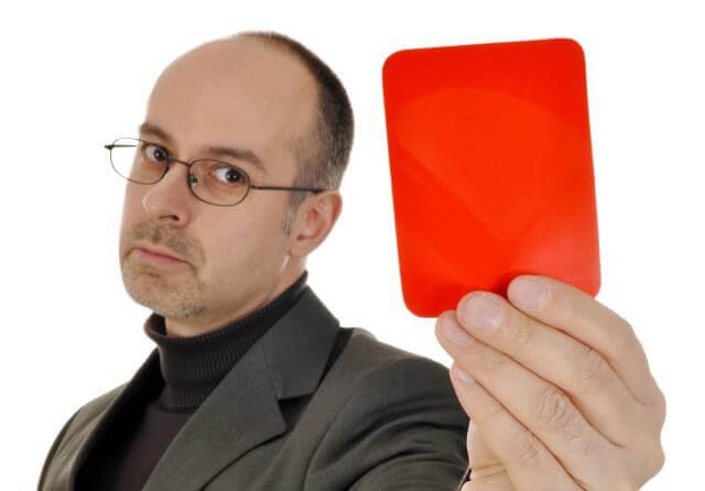 現金化によるカード会社からの罰則