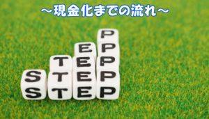 ビックギフトの申し込み~現金化までの流れ【4STEP】